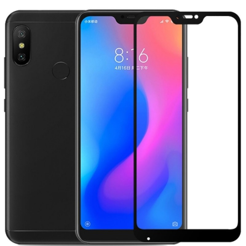 Full Cover Tempered Glass 9H Screen Protector for Xiaomi Mi A2 Lite