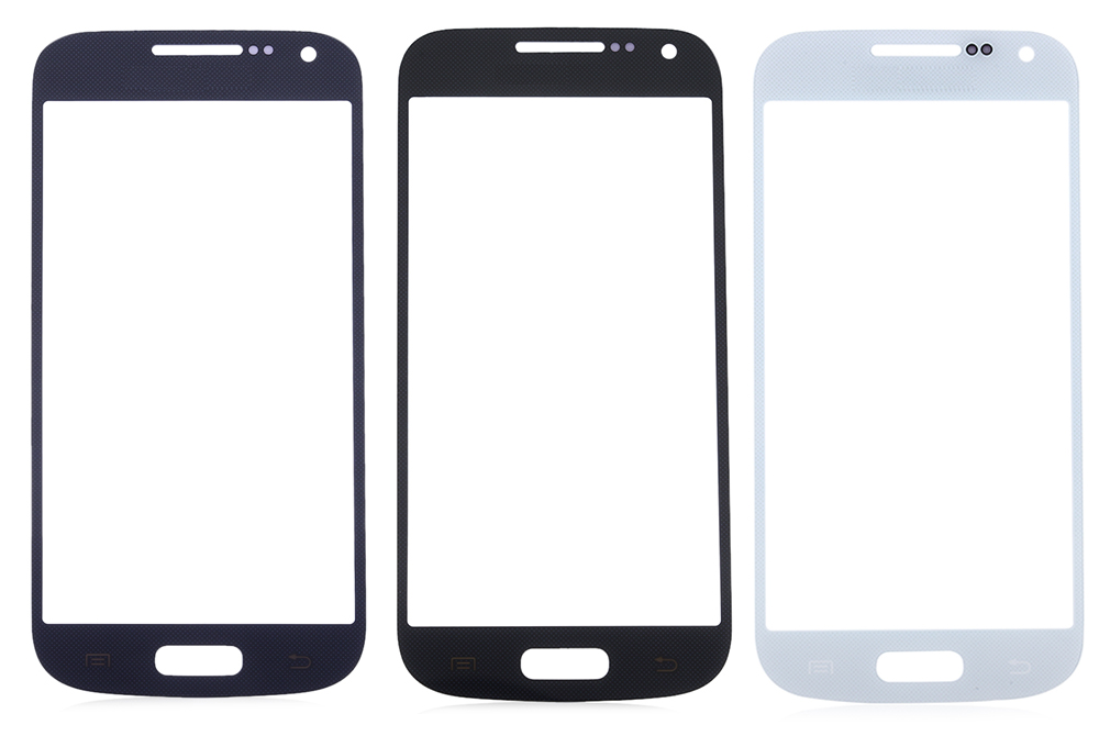 Outer Glass Lens Touch Screen Protective Cover with Repair Tools for Samsung S4 Mini