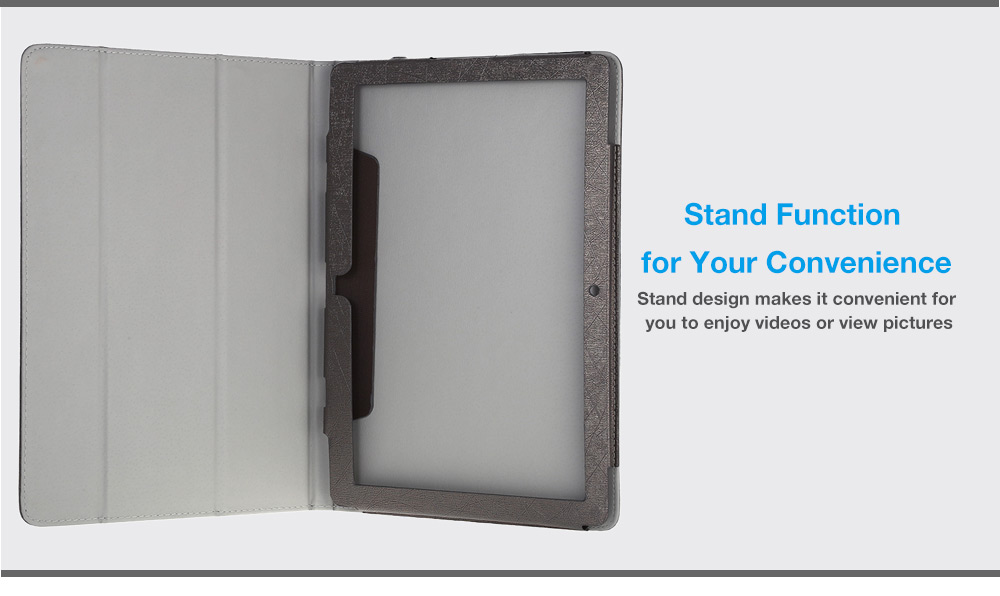 PU Protective Case Full Body Folding Stand Design for Teclast Tbook 12 Pro